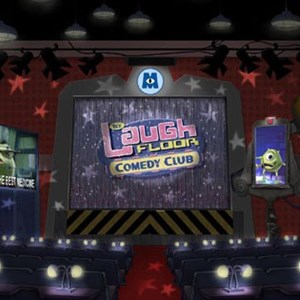 1 of 1: Monsters Inc Laugh Floor Comedy Club - The Laugh Floor Comedy Club concept art