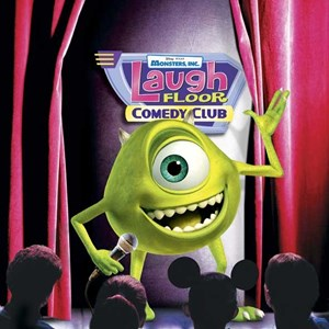 1 of 1: Monsters Inc Laugh Floor Comedy Club - New Laugh Floor concept art
