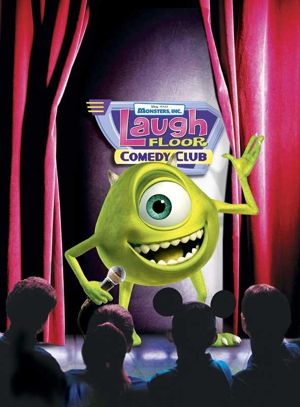 Monsters Inc Laugh Floor Comedy Club