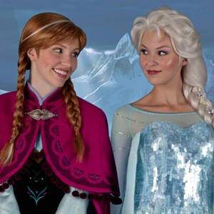 1 of 1: Norway (Pavilion) - Frozen characters meet and greet