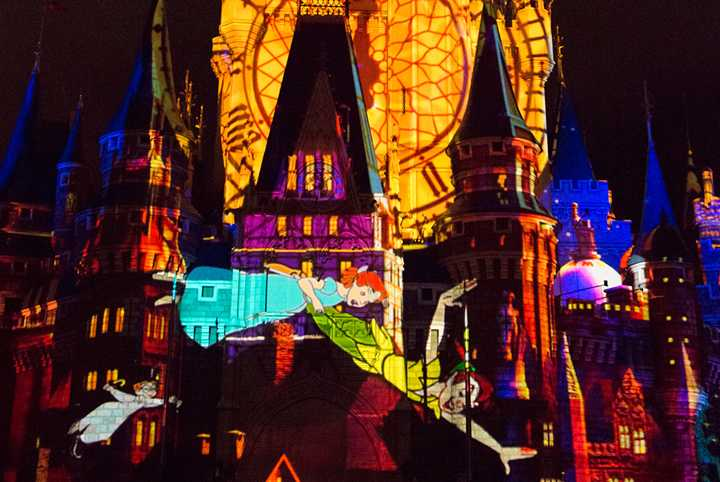 'Once Upon A Time' projection show to replace 'Celebrate the Magic' in November