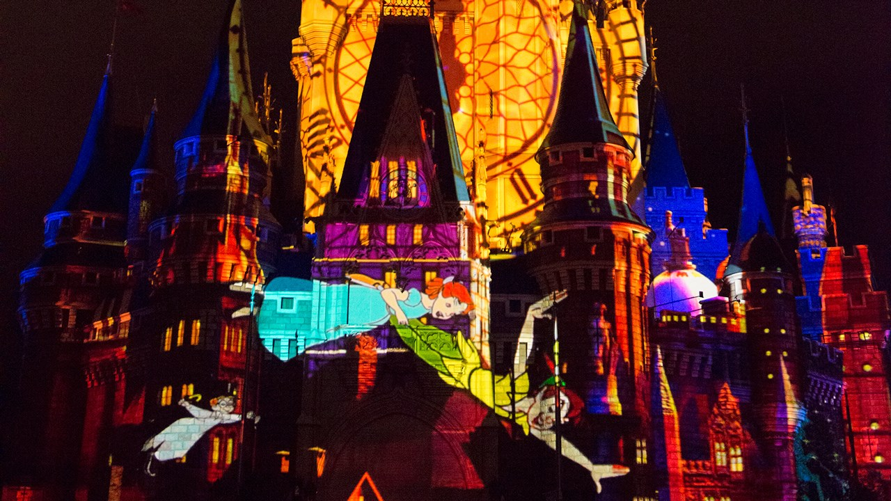 Once Upon A Time projection show