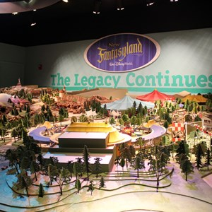 1 of 1: One Man's Dream - Fantasyland model