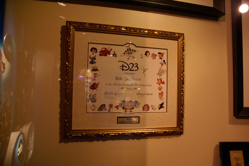 D23 display joins One Man's Dream