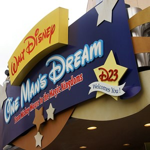 1 of 6: One Man's Dream - D23 display joins One Man's Dream