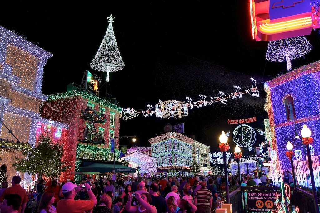 Osborne Spectacle of Dancing Lights