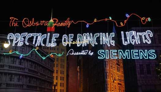 Dates confirmed for this year's Osborne Family Spectacle of Dancing Lights