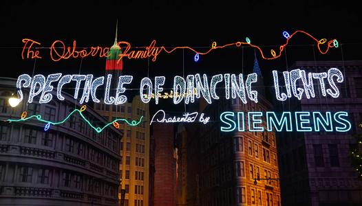 Construction permits suggest a return of the Osborne Family Spectacle of Dancing Lights for 2015
