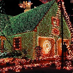 7 of 15: Osborne Family Spectacle of Dancing Lights - Osborne Family Spectacle of Lights display on Residential Street