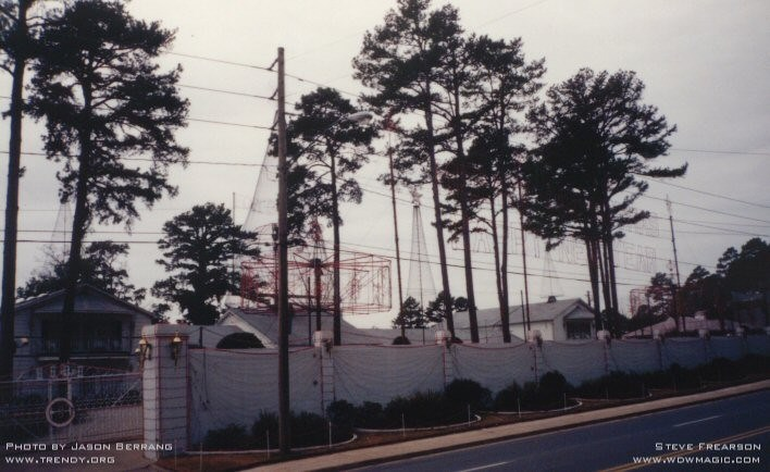 The lights in their original location in Little Rock AR