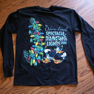 1 of 2: Osborne Family Spectacle of Dancing Lights - Osborne Family Spectacle of Lights 2008 t-shirt