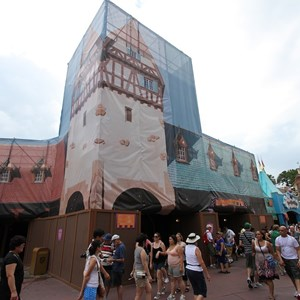 3 of 3: Peter Pan's Flight - Exterior refurbishment