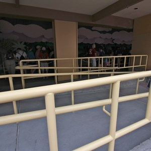 3 of 4: Peter Pan's Flight - Queue area construction