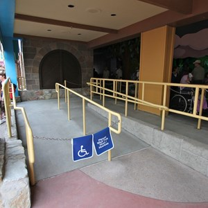 4 of 4: Peter Pan's Flight - Queue area construction