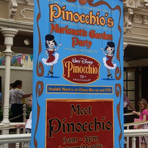 3 of 3: Pinocchio's Marionette Garden Party - Pinocchio's Marionette Garden Party