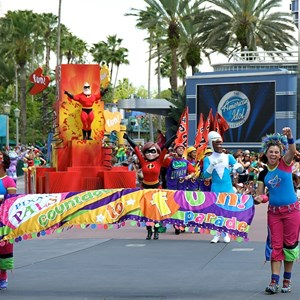 1 of 24: Pixar Pals Countdown To Fun! - Parade performance