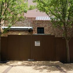 Pixar Place construction wall - Luxo