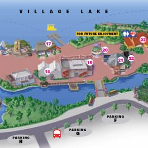 1 of 2: Pleasure Island - New Map shows buildings removed