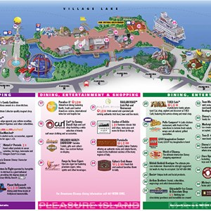 2 of 2: Pleasure Island - New Map shows buildings removed