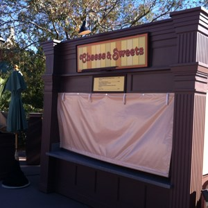 3 of 4: Pleasure Island - Food and Wine kiosks at Pleasure Island
