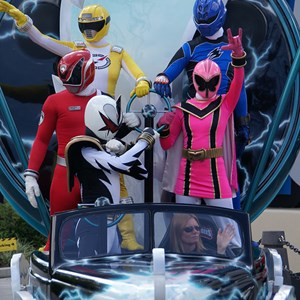 1 of 14: Power Rangers - Power Rangers arrive.
