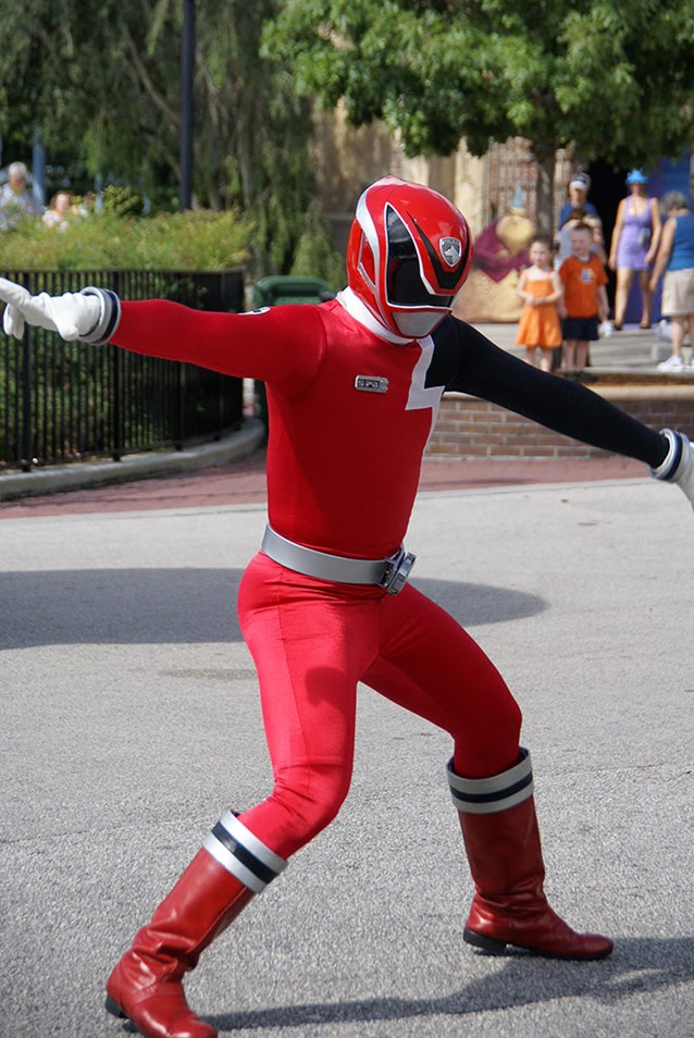 Power Rangers - Red Ranger.