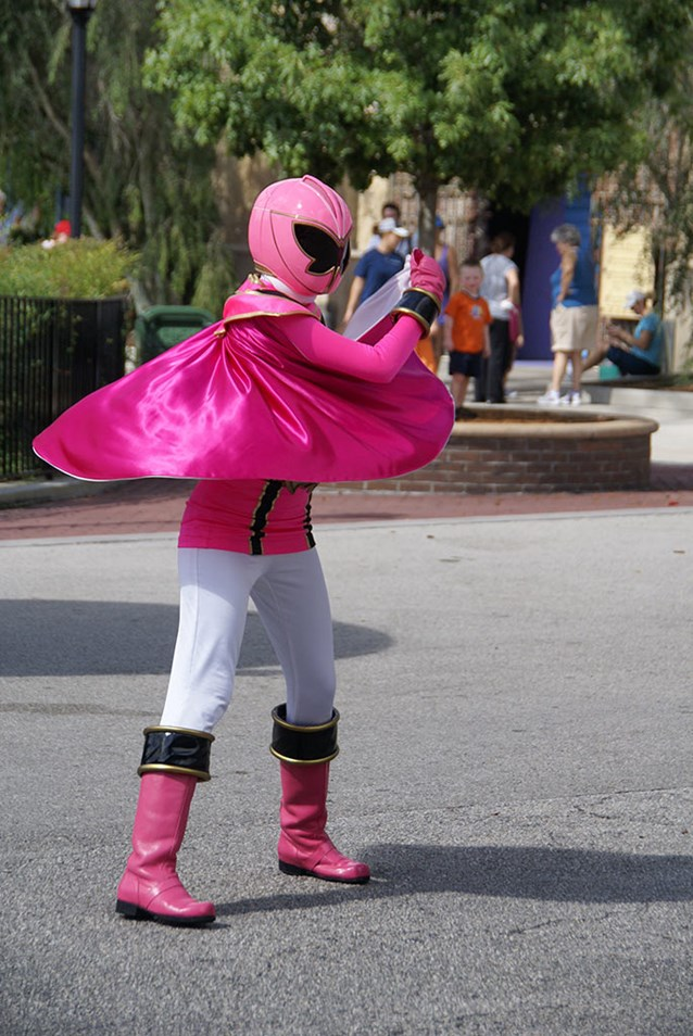 Power Rangers - The Pink Ranger