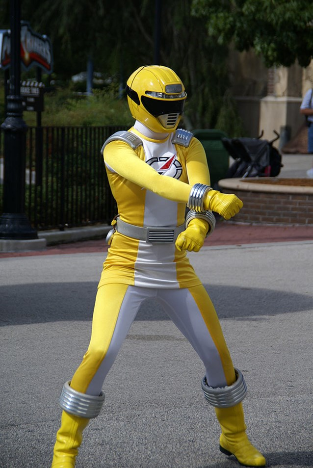 Power Rangers - The Yellow Ranger.