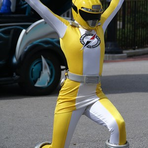 8 of 14: Power Rangers - The Yellow Ranger