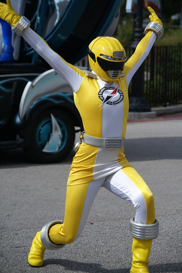 Power Rangers - The Yellow Ranger