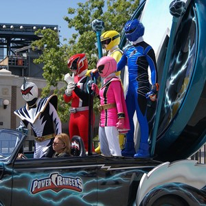 14 of 14: Power Rangers - Power Rangers arrive.