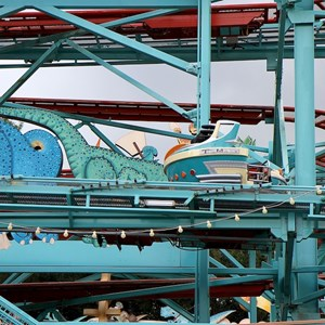 1 of 5: Primeval Whirl - Primeval Whirl refurbishment reopening