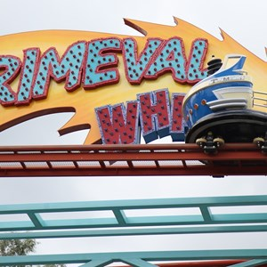 2 of 5: Primeval Whirl - Primeval Whirl refurbishment reopening