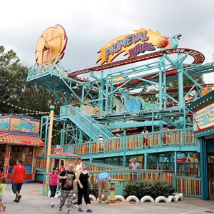 3 of 5: Primeval Whirl - Primeval Whirl refurbishment reopening