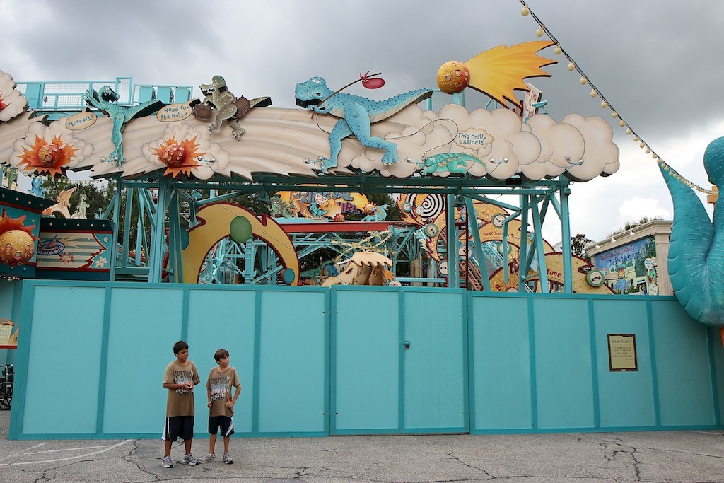 Primeval Whirl refurbishment reopening