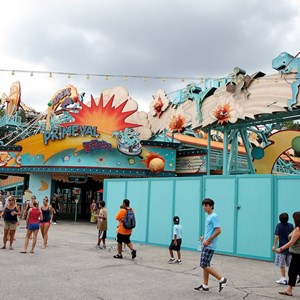 5 of 5: Primeval Whirl - Primeval Whirl refurbishment reopening
