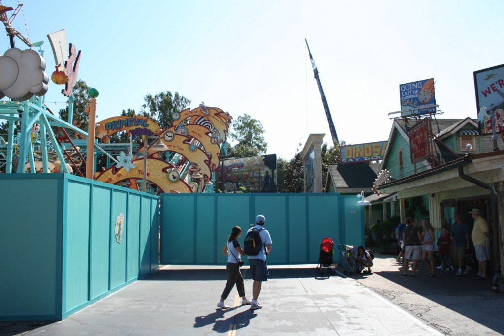 Primeval Whirl refurbishment