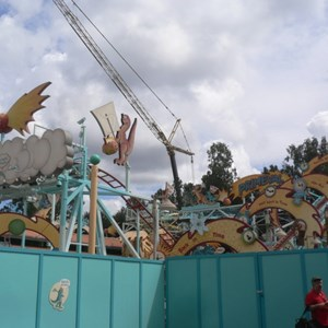 10 of 12: Primeval Whirl - Primeval Whirl refurbishment