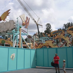 11 of 12: Primeval Whirl - Primeval Whirl refurbishment