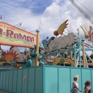 12 of 12: Primeval Whirl - Primeval Whirl refurbishment