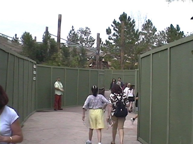 Preparations for Primeval Whirl construction to begin