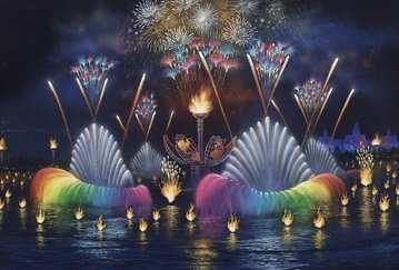 IllumiNations 2000: Reflections of Earth concept art