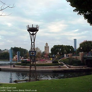 2 of 2: IllumiNations: Reflections of Earth - Gas torch installation