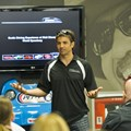 Richard Petty Driving Experience - Brazilian Formula One driver Christian Fittipaldi introduces a new fleet of supercars by Ferrari, Lamborghini, Audi and Porsche 