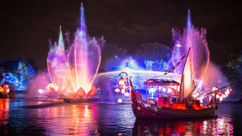 Rivers of Light rehearsal
