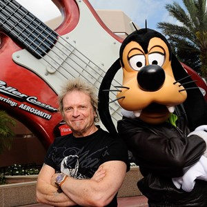 1 of 1: Rock 'n' Roller Coaster Starring Aerosmith - Aerosmith's Joey Kramer at Rock n Roller Coaster