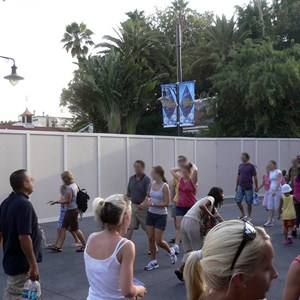 1 of 4: Rock 'n' Roller Coaster Starring Aerosmith - Rock n Roller Coaster exterior refurbishment