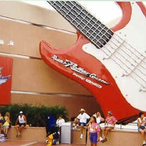 1 of 2: Rock 'n' Roller Coaster Starring Aerosmith - Rock n Roller Coaster name change