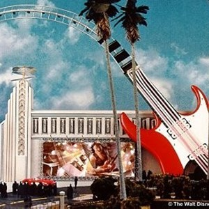 1 of 1: Rock 'n' Roller Coaster Starring Aerosmith - Rock n Roller Coaster concept art
