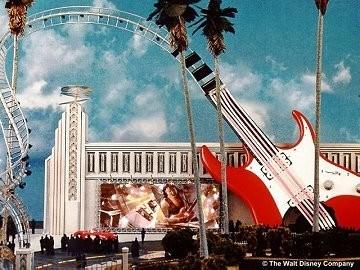 Rock n Roller Coaster concept art